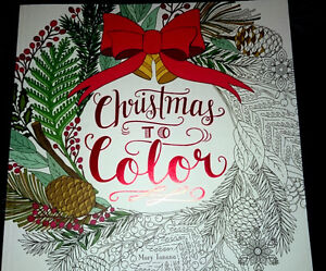Colouring book- Christmas to Colour by Mary Tanana