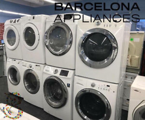 FRONT LOAD WASHERS/ DRYERS - CONDO SIZE/ FULL CAPAC