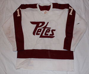 BUYING PETERBOROUGH PETES JERSEYS