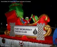 16 X 8 ft. trailer for Christmas parade float