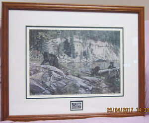 "Paul Rankin Limited Edition Wildlife Print ""Living On The Edge"""