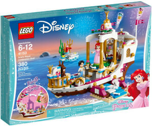 Lego Disney 41153 Ariel's Royal Celebration Boat Neuf