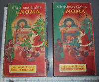 1950's Norma Christmas lights- working!  rare.