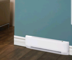 2 Electric Baseboard Heaters (Newer models)