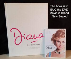 PRINCESS DIANA Coffee Table Hardcover Book & DVD Movie Bundle