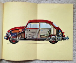 1966 VW Beetle Owner's Manual and Sales Documents