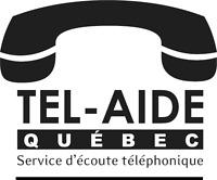 Bénévolat : Écoute téléphonique à  Tel-Aide Québec