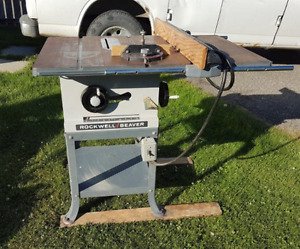 Rockwell-Beaver Table Saw