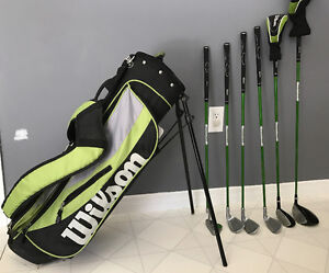 Jr. golf clubs - left handed