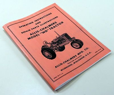 Allis Chalmers Tractor | Owner's Guide to Business and