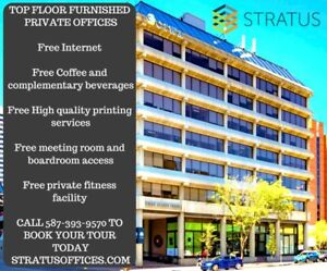Private Offices - Great Views - All Services Included