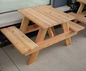 Cedar Picnic Table Kits - 3ft to 10ft sizes West Island Greater Montréal image 2