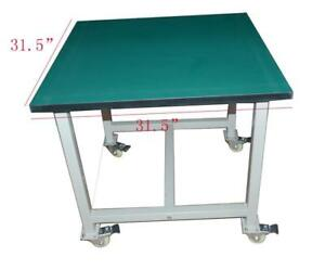 Electricity Work Table With Wheels Rotate 360 Degree 230521