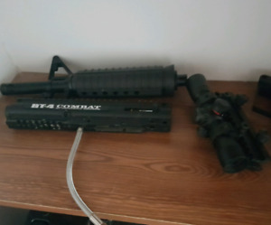 Paintball marker/attachments