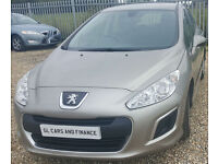 Peugeot 308 1.6HDi FAP 2011 Access. GUARANTEED FINANCE payment between £30-£60PW