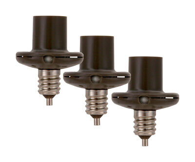Amertac Black Photoelectric Candelabra Light Control 1 Pk
