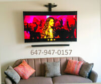 TV WALL MOUNTING - FAST AND PROFESSIONAL