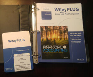 Financial Accounting Seventh Canadian Edition with Access Code