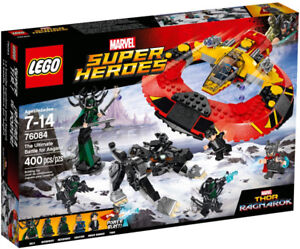 Lego Super Heroes 76084 The Ultimate Battle for Asgard Neuf