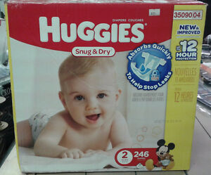 126 Pieces of Huggies Diaper (Snug and Dry)