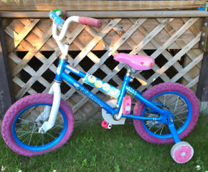 Girl's Bicycle - Lalaloopsy with training wheels