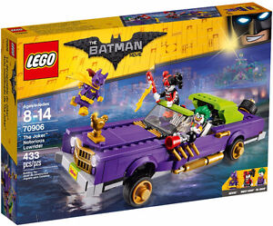 THE LEGO BATMAN MOVIE 70906 The Joker Notorious Lowrider NEW!!!