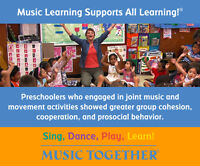 Early Childhood Music Program