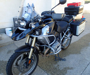 2010 Black BMW R1200 GS, PURCHASED NEW in May 2011