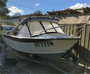 4.0m Aluminium Savage Fishing Boat 25 HP Yamaha