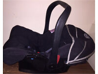 Graco car seat with hood 0-13kg