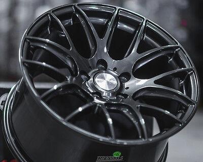 "18"" ESR SR12 Gunmetal Wheels 18x8.5 +35 5x120 For BMW E46 328i Z4  (Set 4 Rims) for sale  Placentia"