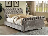 BEDLINES -SWAN BED FRAME - AVAILABLE WITH MATTRESS - DELIVERED - CHOICE OF COLOURS - CALL NOW
