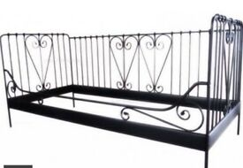 ikea Single bed black