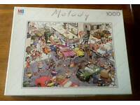 Highly irreverent jigsaw from MB Melody - I ❤ New York