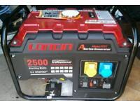 Petrol generator 240v 110v new unused