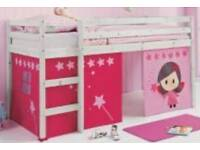 Single Bunk Bed , Mattress & Tent