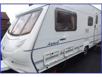 Swift Ace 4 Berth Luxury Touring Caravan Abbey Sterling Group. REDUCED