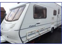 Swift Ace 4 Berth Luxury Touring Caravan Abbey Sterling Group. BARGAIN