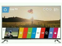 "LG 43"" LED smart wi-fi built HD freeview full HD 1080p"