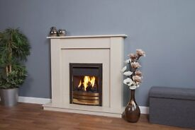 Lille Suite Fireplace
