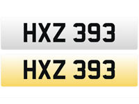 HXZ 393 – Price Includes DVLA Fees – Others Available - Cherished Personal Registration Number Plate
