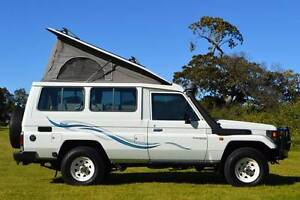 Toyota 4x4 Frontline Campervan 4.2L Diesel with 5 Seat Belts & Ki
