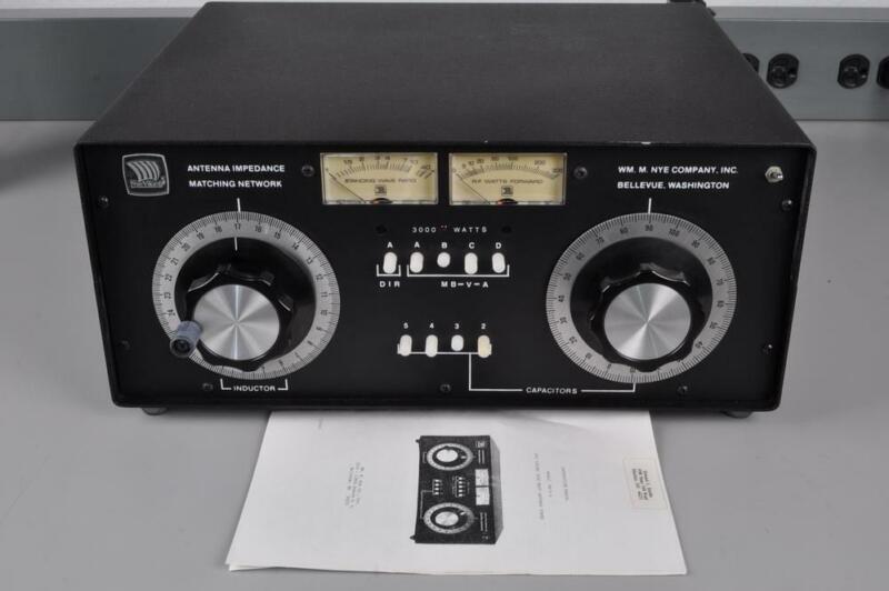 NYE VIKING MB-V-A  3KW ANTENNA TUNER S#8870