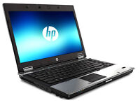 "HP Elitebook Metallic Laptop 15.4"" - Intel Core2Duo 4.8Ghz with 3Gb Ram - Webcam - Wifi+Bluetooth"
