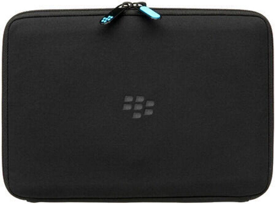 BlackBerry ZIP SLEEVE BLACK/BLUE CASE FOR CASE BLACKBERRY PL