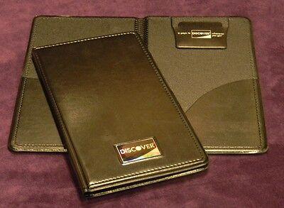New 10 Pcs Double Panel Check Presenter Discover Restaurant Server Books Lot