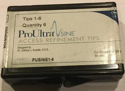 Dentsply Proultra Sine Assorted Tips 1-6 - Ultrasonic - Genuine - Endodontic