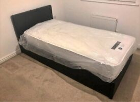 Factory Packed Brand New Single Size Divan bed Quickest Delivery