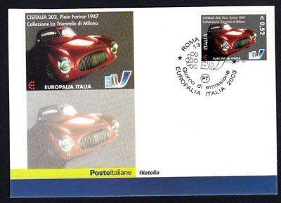 Italia 2003 : Cisitalia 202 - Cartolina Ufficiale Poste Italiane / Europalia