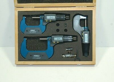 Fowler 54-850-103 Electronic Micrometer Set 0-3 Blow Out Price